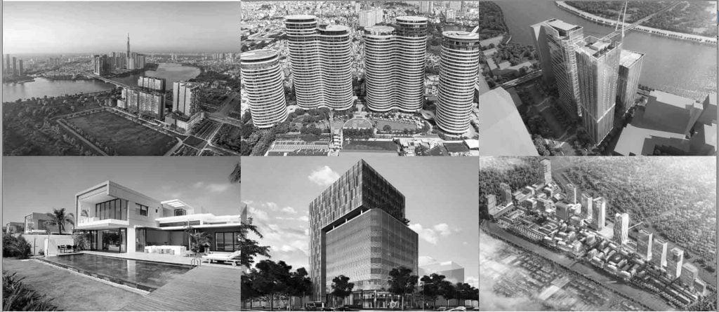 Một số dự án bất động sản đang và sẽ được Refico triển khai của Refico tại Việt Nam