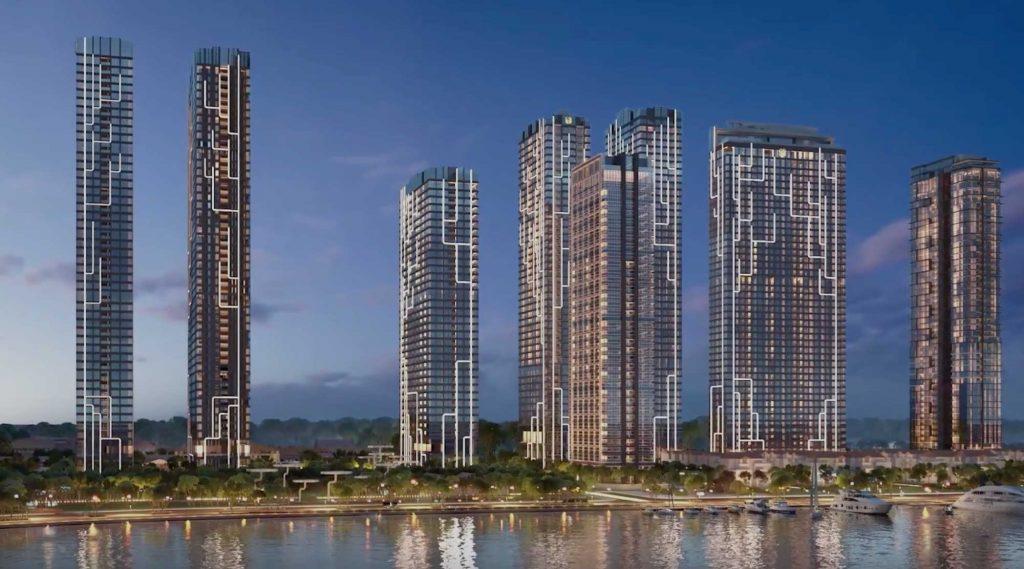 Phối cảnh dự án Grand Marina Saigon của tập đoàn Masterise Group