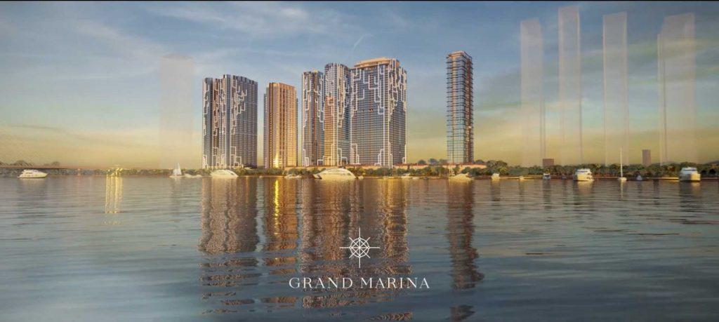 Grand Marina Saigon là một siêu phẩm của tập đoàn Masterise Group chuẩn bị ra mắt thị trường bất động sản thành phố Hồ Chí Minh
